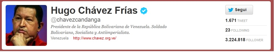 chavez twitter