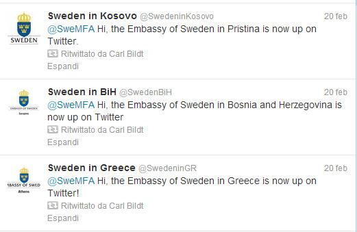 ambasciate svedesi