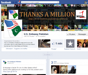 pagina facebook pakistan